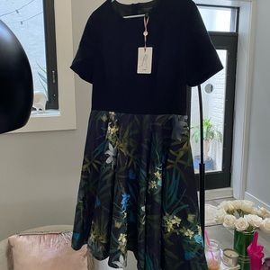 Black and green Ted baker dress